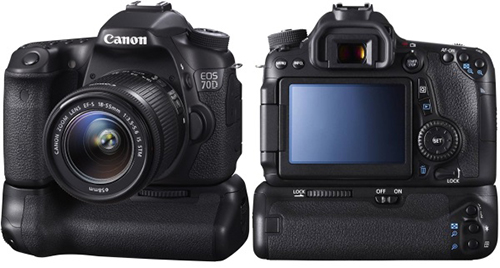 Canon EOS 70D Comparison