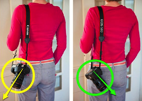 How to safely carry DSLR