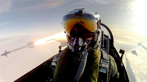 Jet Fighter Extreme Selfie