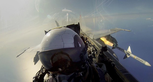 Jet Fighter Famous Selfie