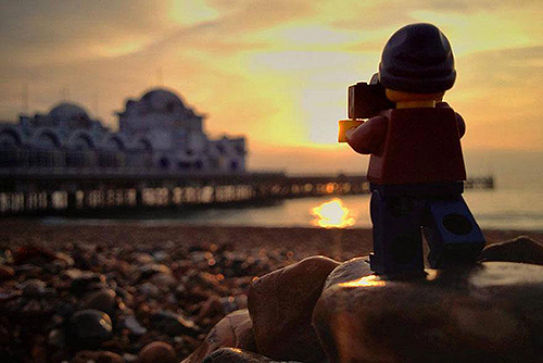 legographer-sunset hunter