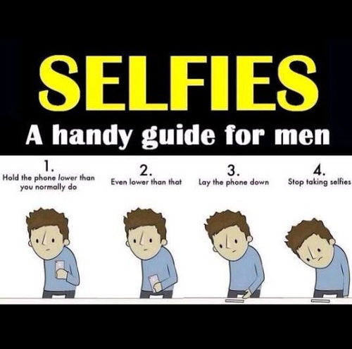 Selfies Guide for Men