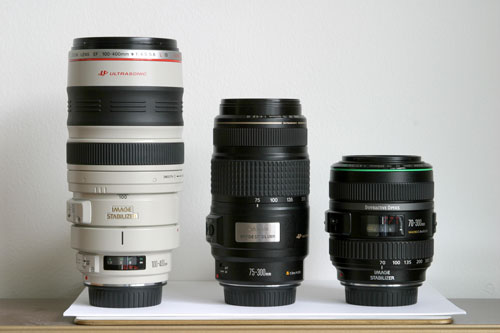 DO lens size comparison
