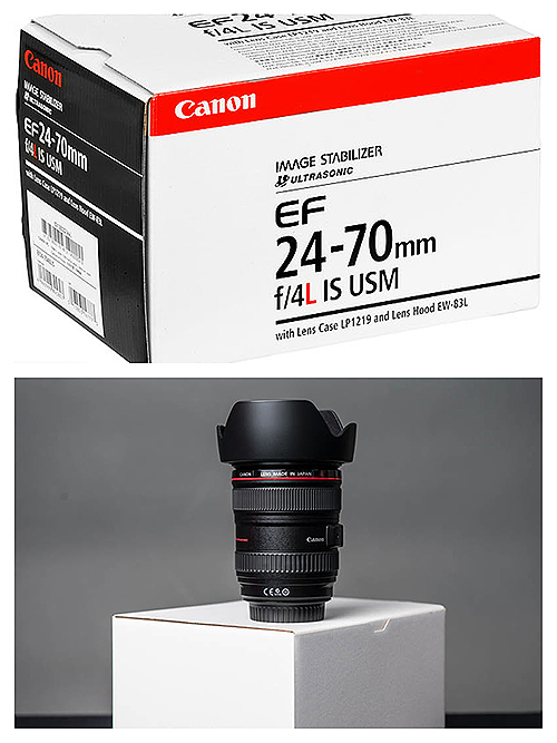 White Box and Standard Box Canon Lens, What is the Difference?