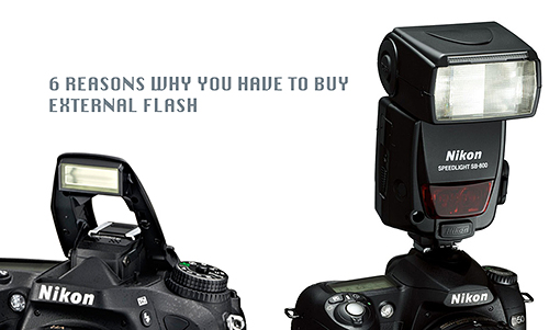 Built-in flash vs External Flash