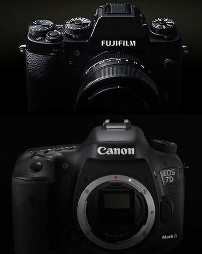 Mirrorless vs DSLR Advantages