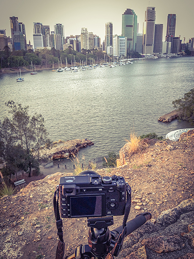Capturing City Scape