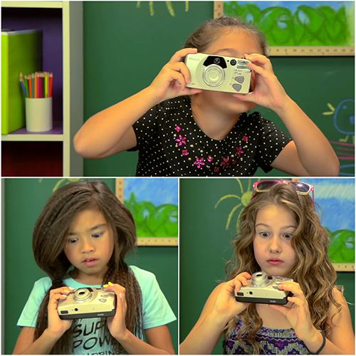 Funny Photography things: Kids React to Old Camera