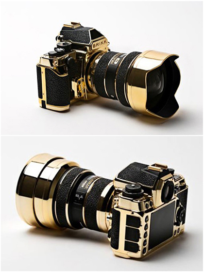 Nikon Df in Gold