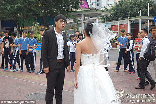 She still wanted to marry him