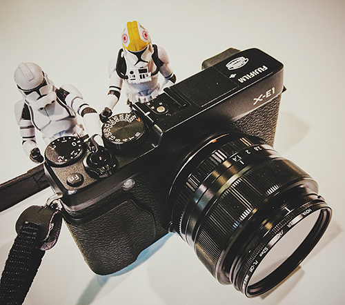 Stormtrooper photographer