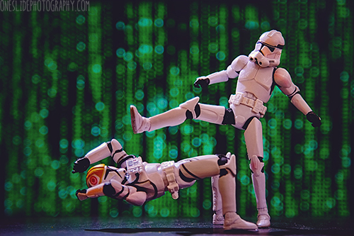 Storm trooper photography ideas