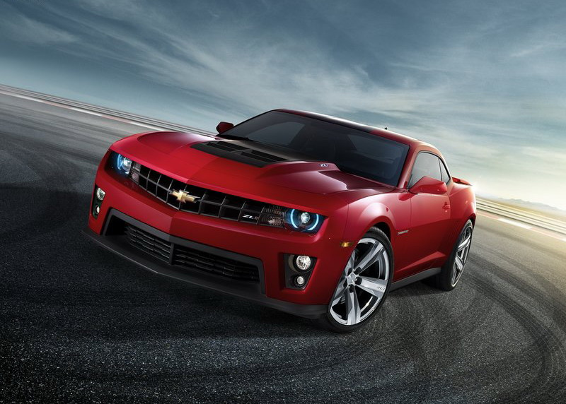 Automotive Photography Tips and Trick - Chevrolet Camaro ZL1