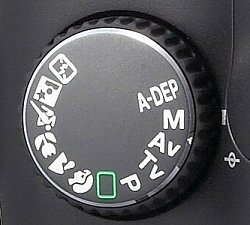 DEP and A-DEP Modes Explanation on DSLR - A DEP Dial on DSLR