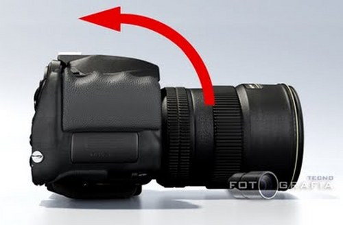 New Nikon D800 Futuristic-Looking Camera Concept