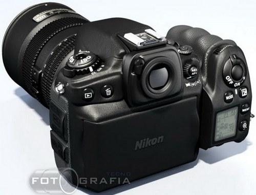 Nikon DSLR D800 Futuristic Looking Camera Concept