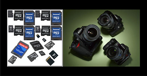SD Card Capacity for DSLR