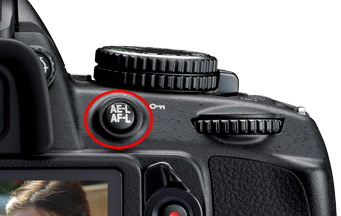 AE-L and AF-L button