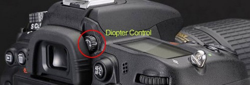 An easy way to use manual lenses on DSLRs – Diopter Control