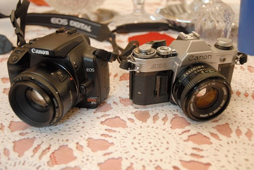 History of Canon Cameras