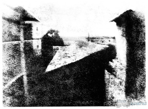 First Photograph in the World