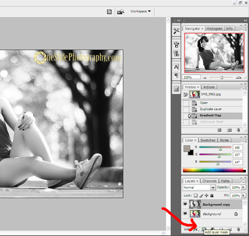 Photoshop tips - add layer mask