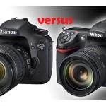 The Nikon D300s vs Canon EOS 7D