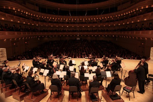 Photographing Orchestra