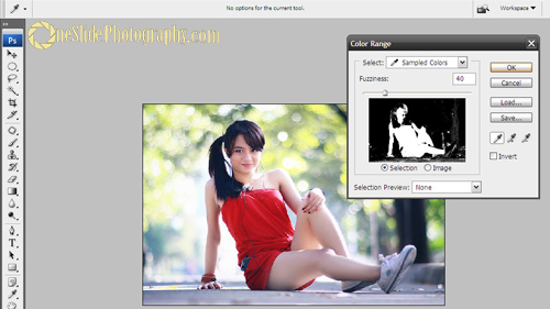 Selective Color Photography Using Adobe Photoshop - Step 2