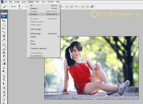 Selective Color Photography Using Adobe Photoshop - Step 3