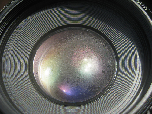 Condensation on your Camera Lens