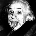 Why did Einstein Stick Out his Tongue in his Portrait?