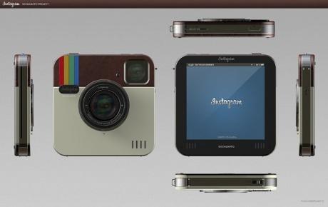 Instagram camera concept