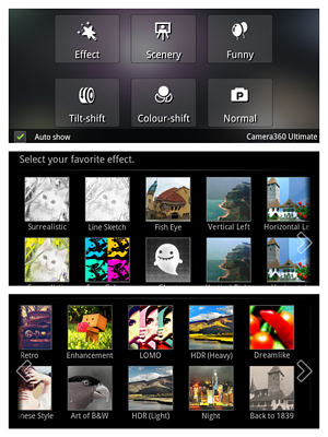 Camera 360 for Android