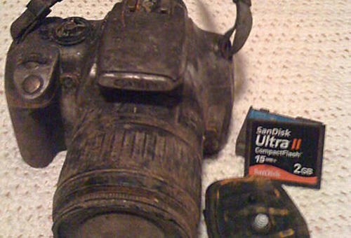 This Camera Returned, after 3 Years Missing at the Bottom of a Muddy Creek