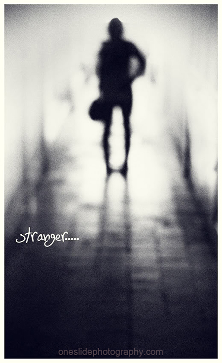 Out of Focus Photography - Stranger