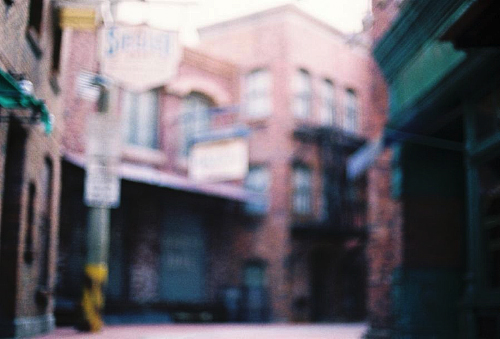 Photography tips - Out of focus photography