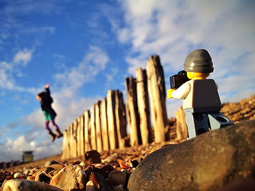 legographer-Caught in the moment