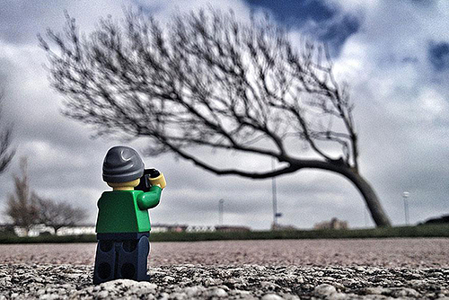 legographer-Prevailing south-westerly