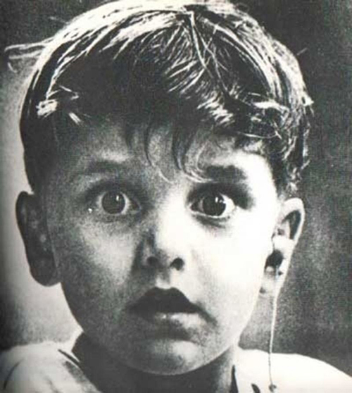 Harold Whittles hears for the first time