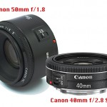 Canon 50mm f/1.8 vs. Canon 40mm f/2.8STM  Which One is Better?