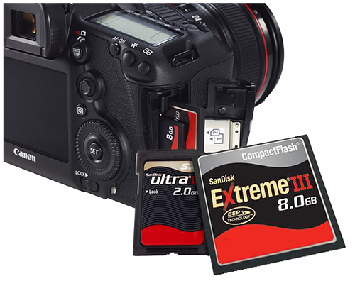 Knowing Types of Memory Card For Digital Camera