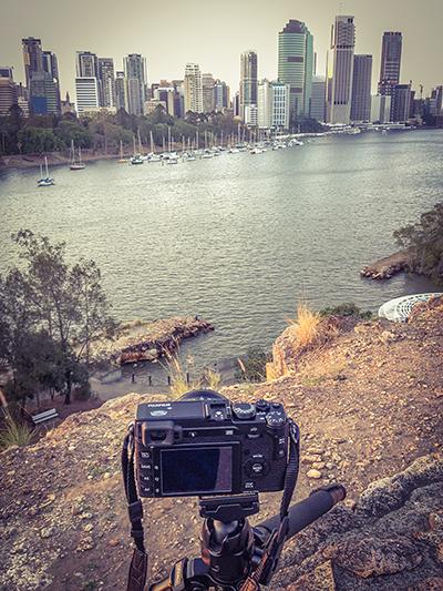 Capturing City Scape