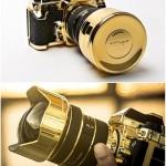 """Lux Nikon Kit"", The 24K Gold Plated Nikon Df Camera"